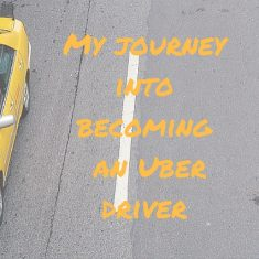 My journeyinto becoming an Uber driver