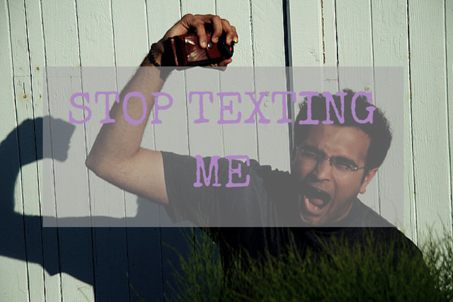 how to stop unsolicited texts