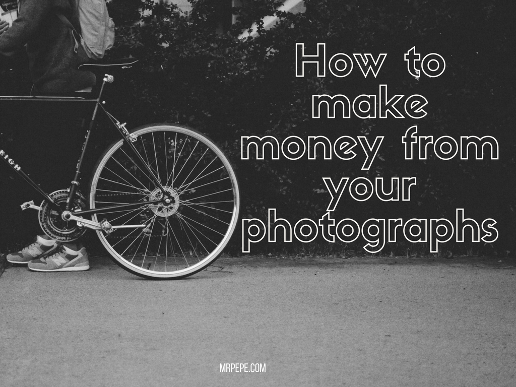 how to make money from your photos