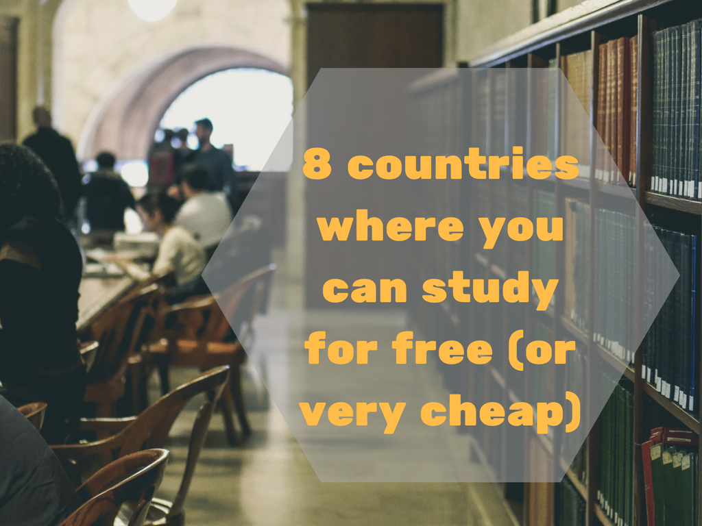 Countries Where You Can Study For Free   Student.com Blog