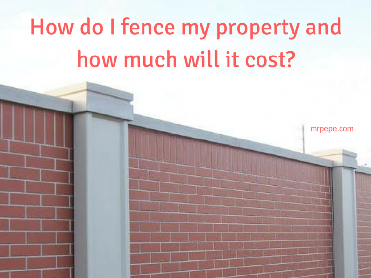 guide how do i fence my property and how much will it cost money making it managing it and. Black Bedroom Furniture Sets. Home Design Ideas